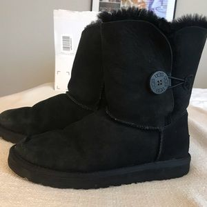 Authentic Bailey Button UGG Boots